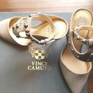Vince Camuto Ledana Pumps, Dusty Mink, Sz8
